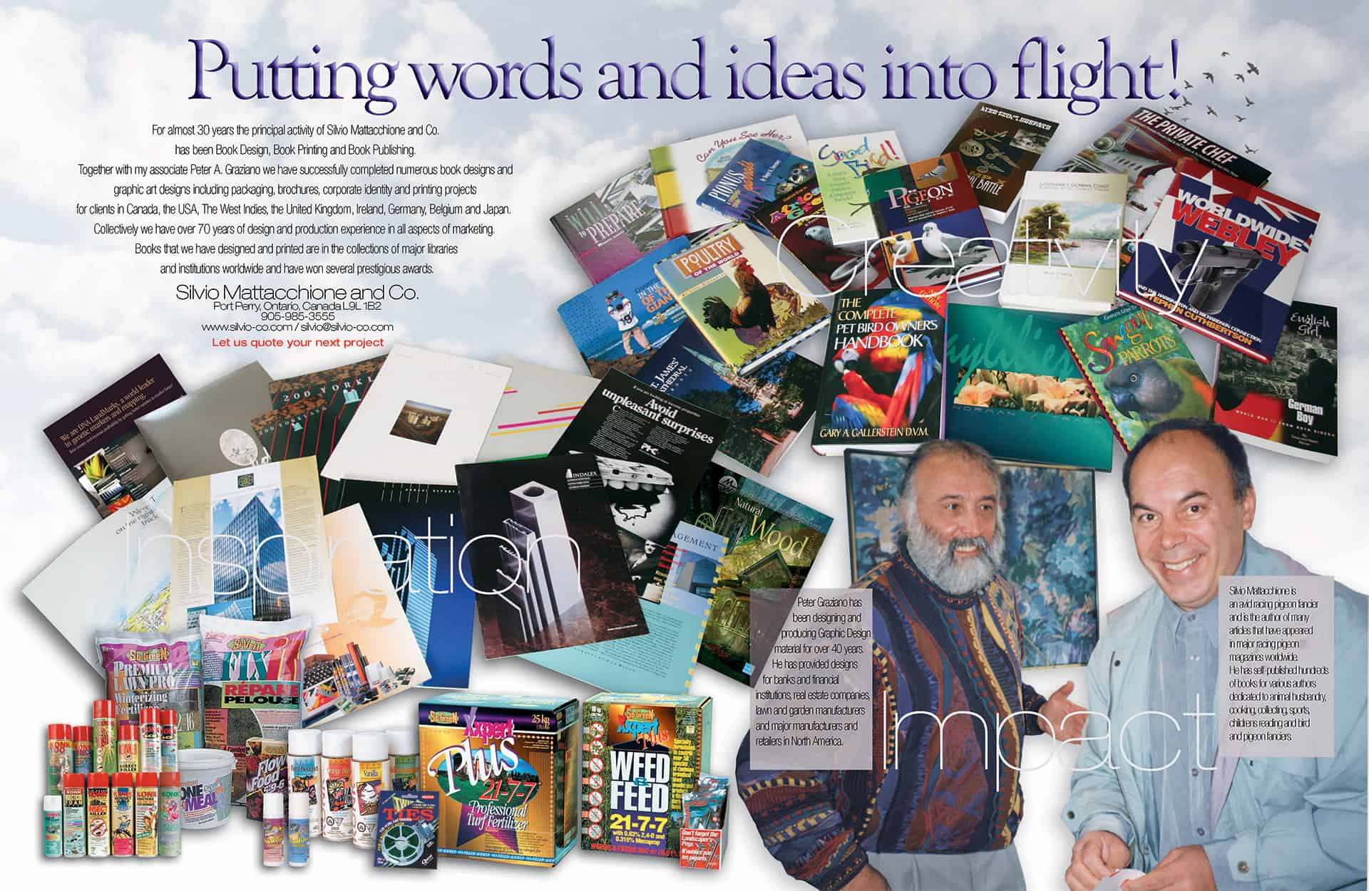 Silvio & Peter - Putting Words and Ideas into Flight