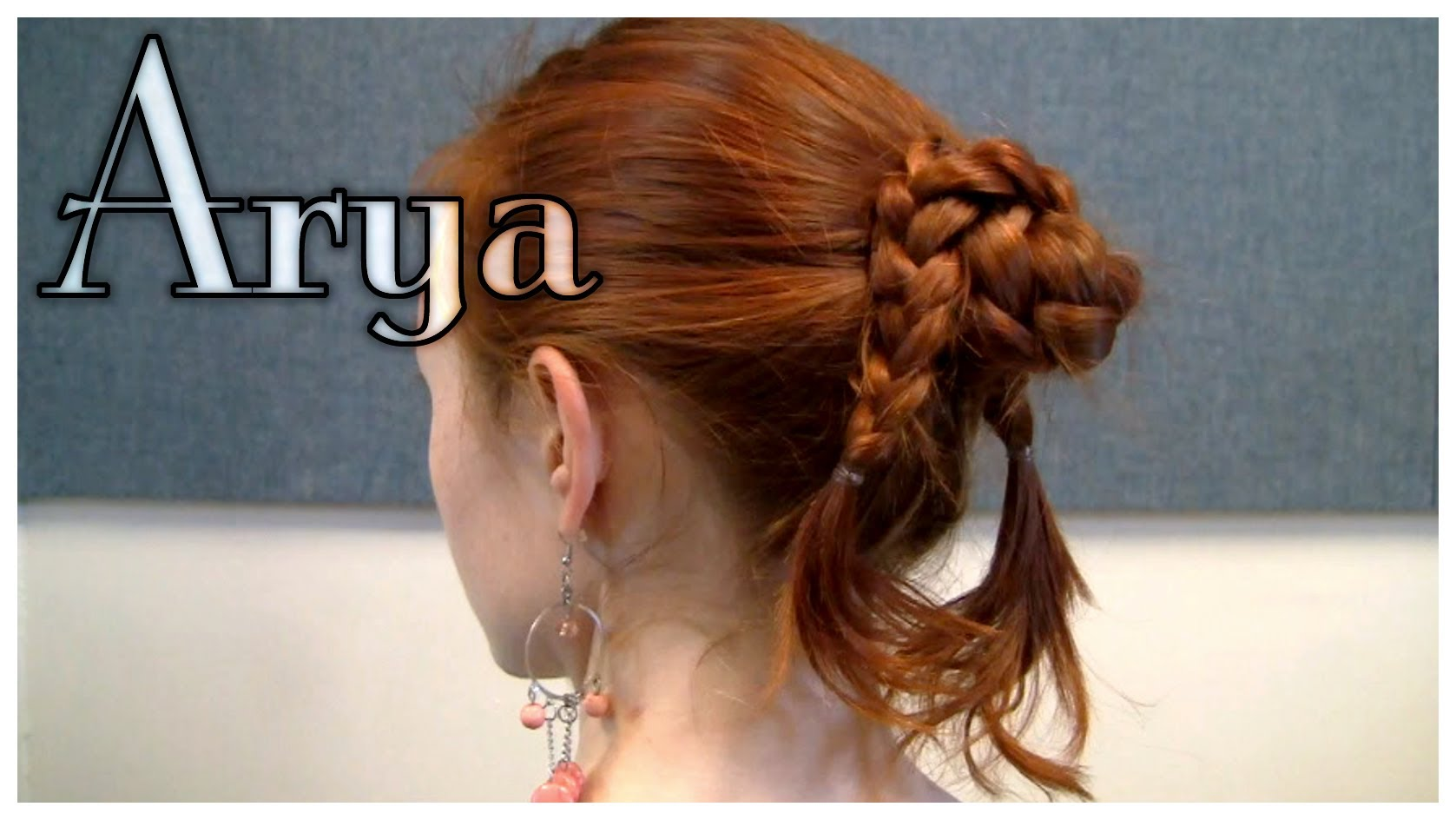 "Arya's ""Water Dancing"" Braided Bun"