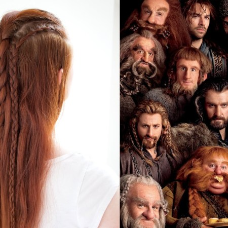 Hair Inspired by the Dwarves in the Hobbit