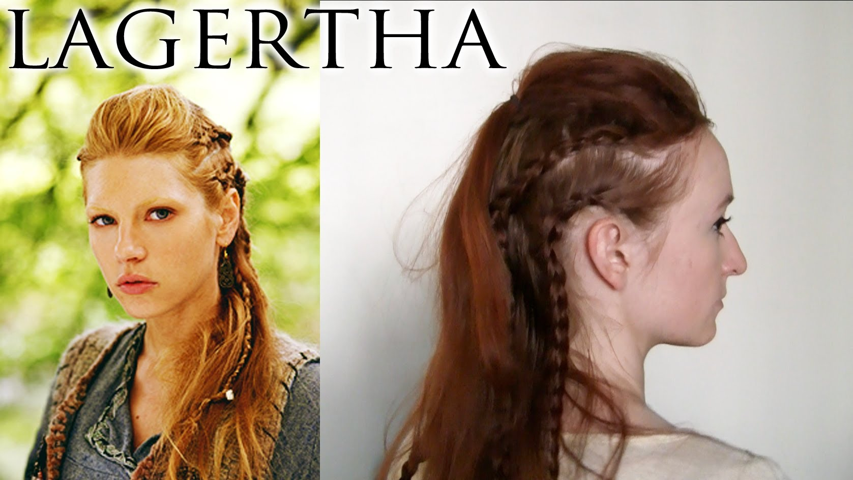 Lagertha's Original Viking Side Braids