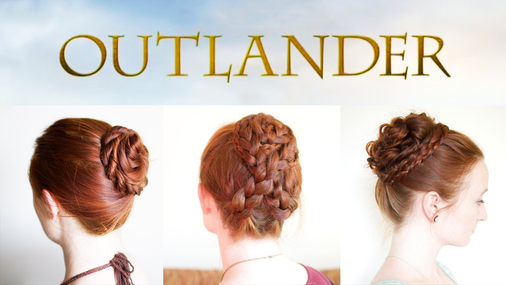 Elegant Updos from Outlander