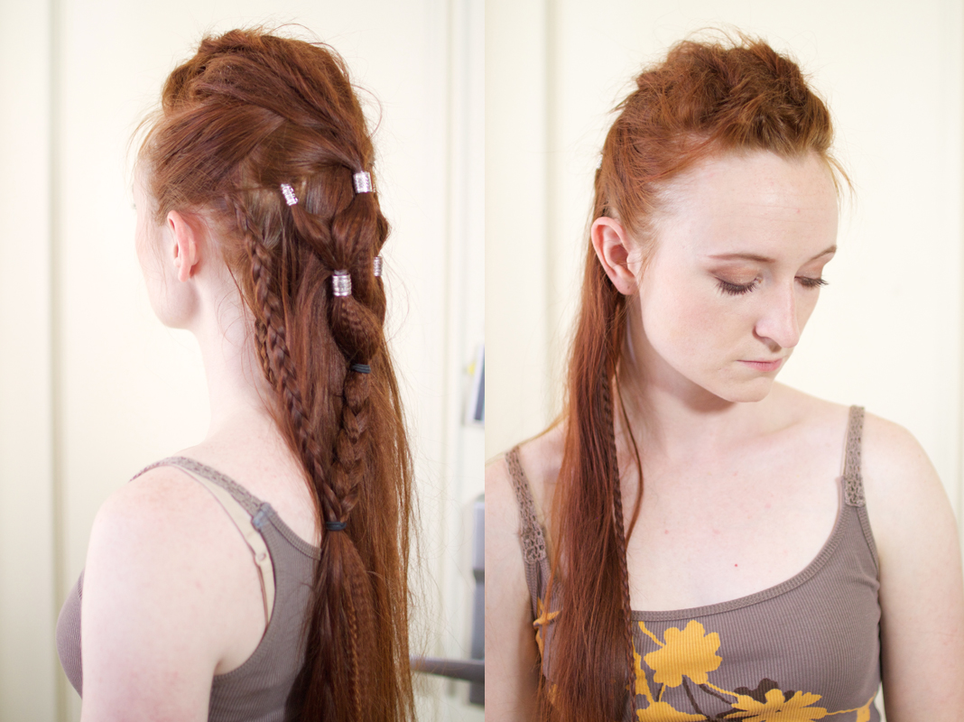 Silvousplaits Hairstyling | Lexa\'s Edgy Grounder Hairstyle ...