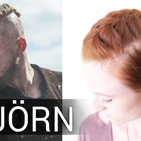 Viking Hair Bun Tutorial for Bjorn Ironside