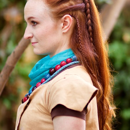 Tutorial for Aloy Braided Hairstyle in Horizon: Zero Dawn