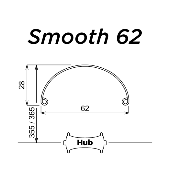 SimWorks by Honjo Smooth 62