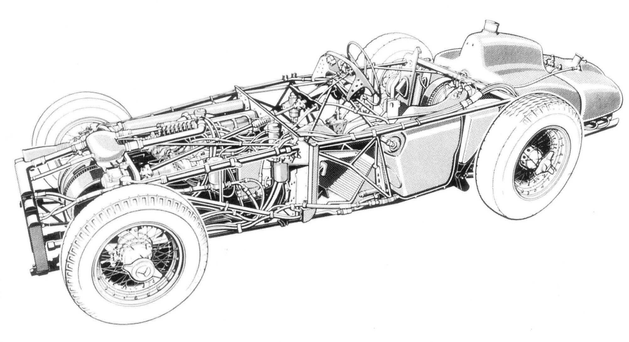 Mercedes Benz W196 Ex Fangio