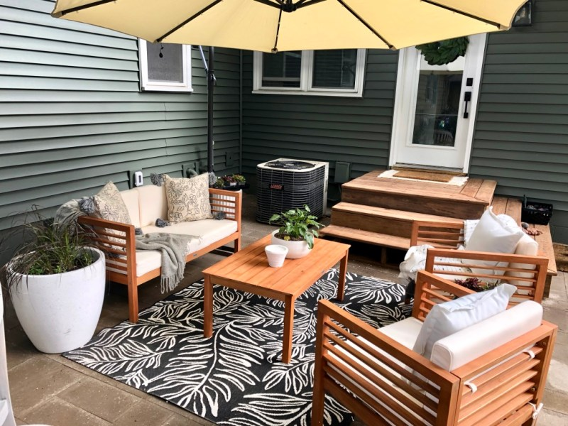 SIma Spaces DIY patio remodel