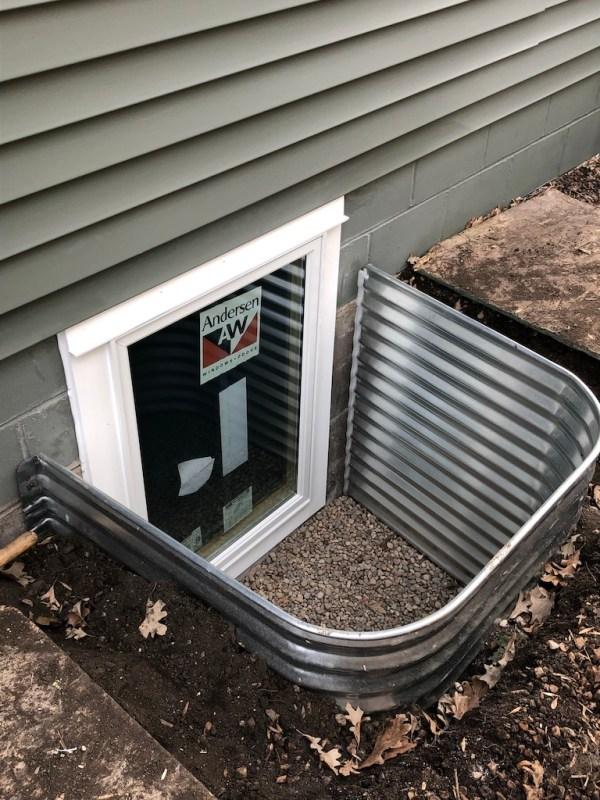 Sima Spaces: Egress Window Installation