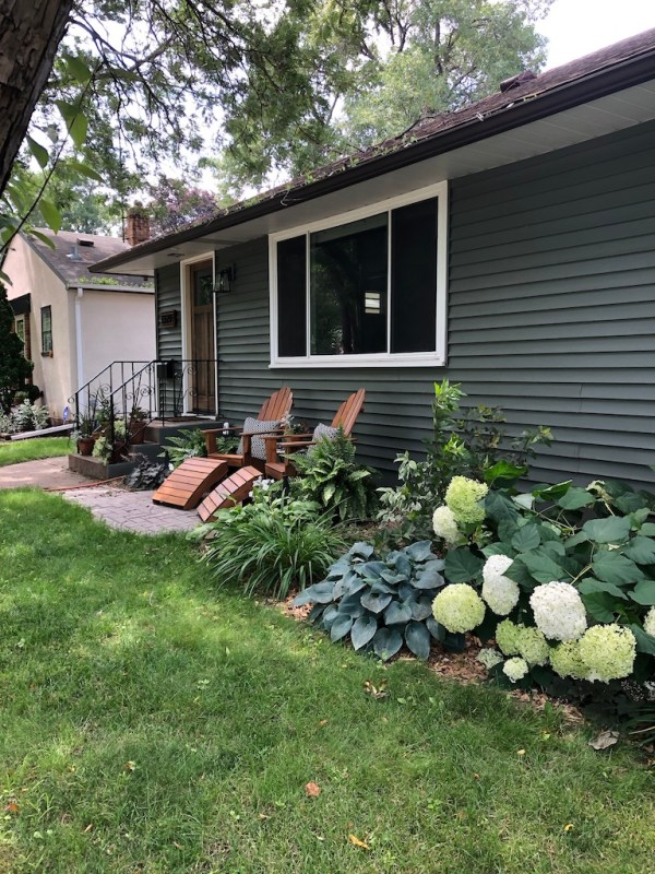 Sima Spaces landscaping, front yard