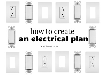How we created an electrical plan for an entire basement remodel: Sima Spaces