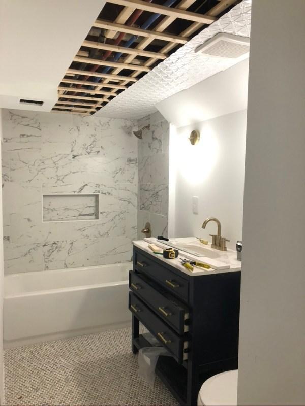 Sima Spaces ORC 2020: bathroom remodel in progress