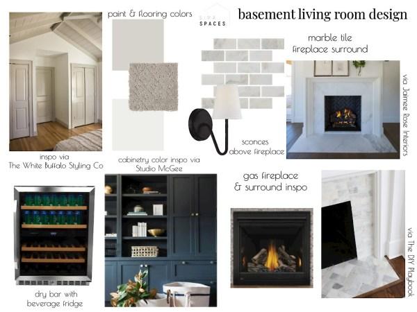 basement design plan: Sima Spaces