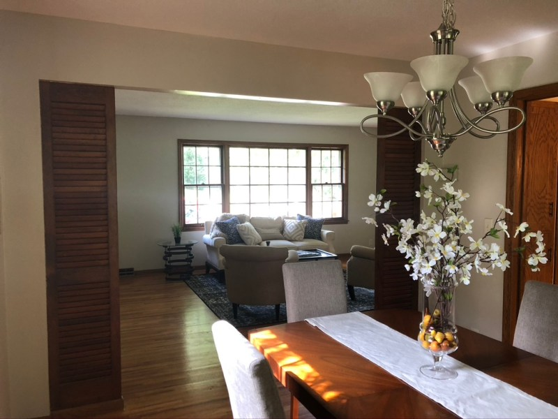 Before view of our dining room// Sima Spaces