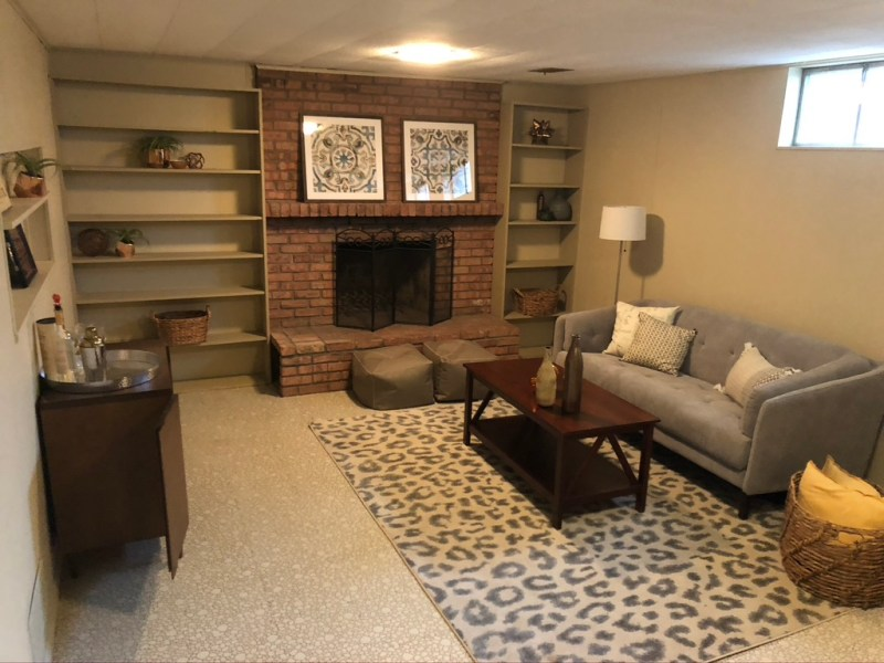 Before view of our basement// Sima Spaces