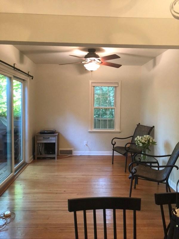 Sima Spaces: Bayard Bungalow Sitting Room Before