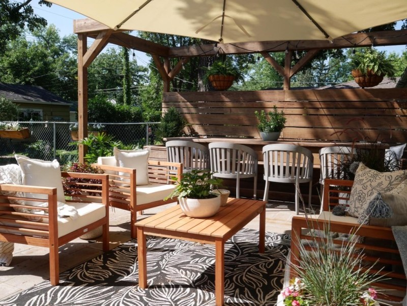 Sima Spaces Outdoor Oasis Patio