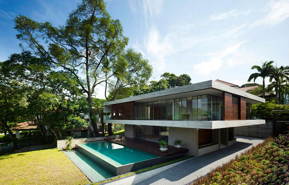 JKC1 House U2013 ONG U0026 ONG   Singapore Nice Design