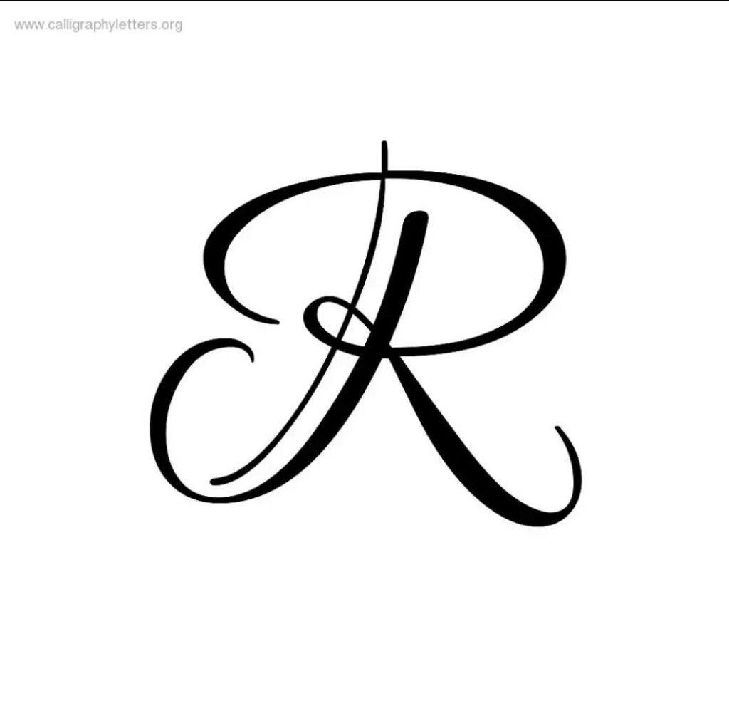 Alphabet r tattoo design pics download