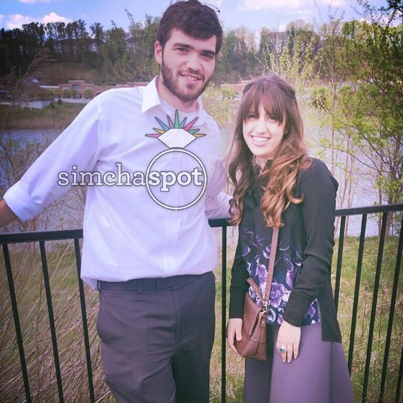 Engagement of Aliza Greenblatt (Lawrence) and Zalman ...