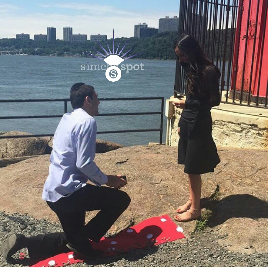 Engagement Of Esther Marciano (Brooklyn) And Mason Wedgle