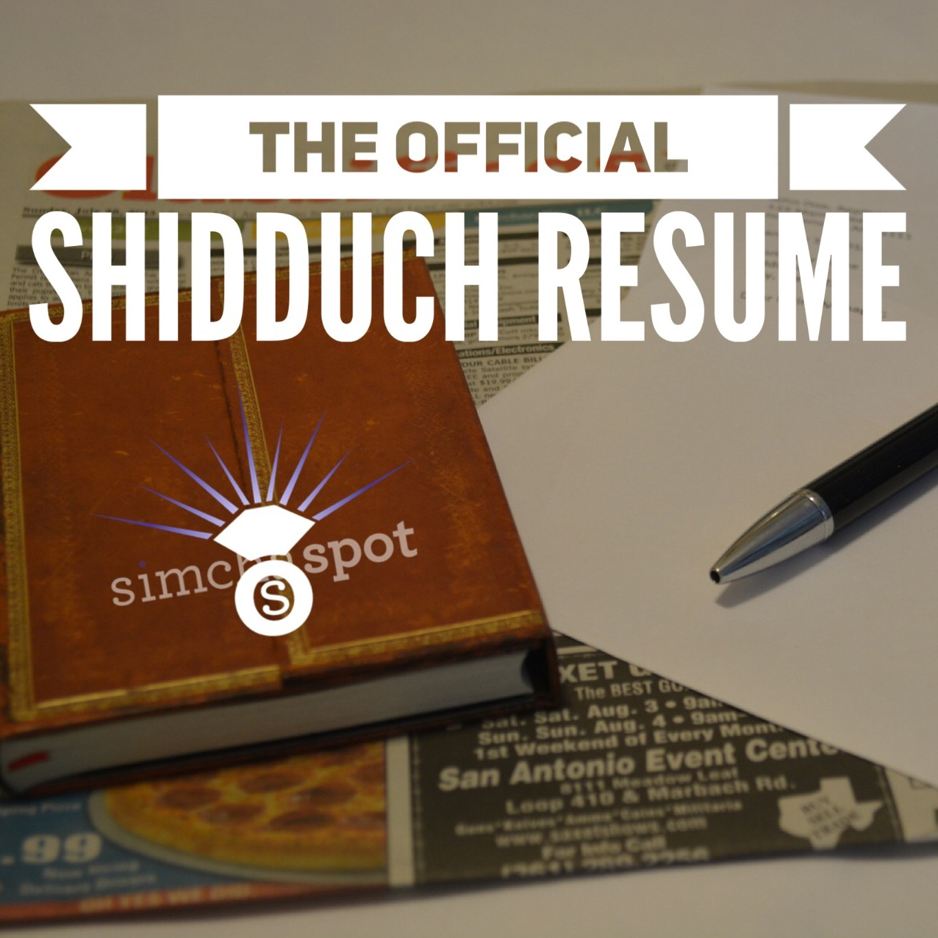 the official shidduch resume