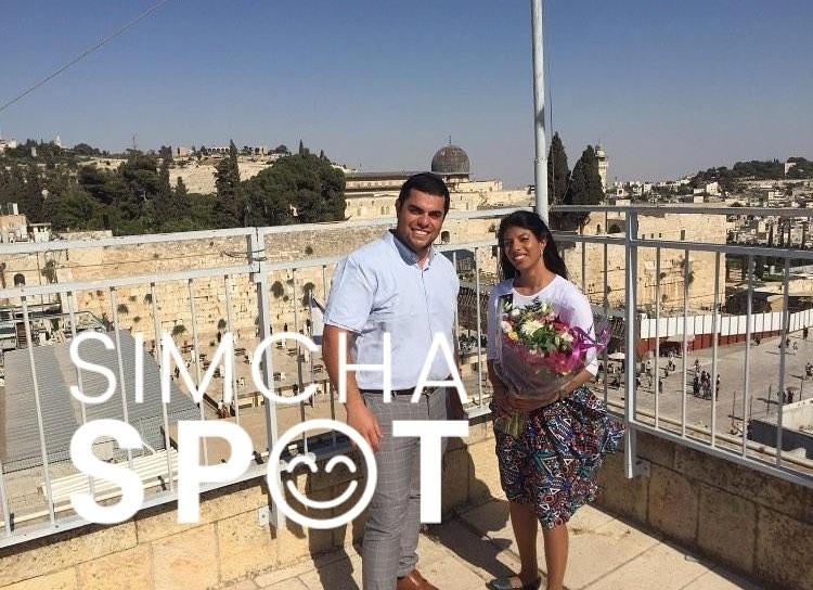Danny Shemesh: Engagement Of Daniel Katz (Brooklyn/Rehovot) And Efrat