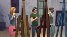 The Sims 4 Painting
