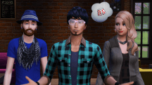 The Sims 4 Hipsters