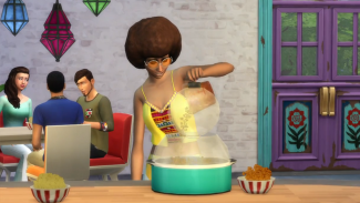 Sims 4 Movie Hangout Stuff Popcorn Popper