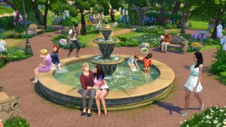 Sims 4 Fountain of Gluteus Maximus
