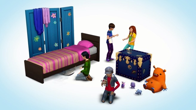 Sims 4 Children Pack