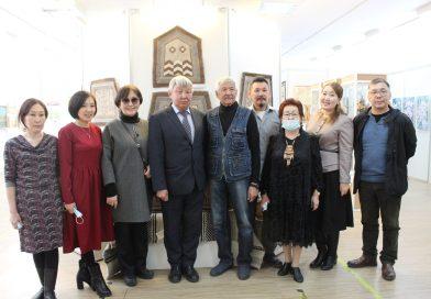 Торжественное открытие выставки, посвященное 125-летию Ильи Егоровича Винокурова