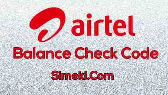airtel balance check