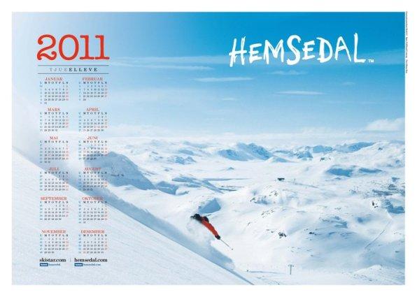 Another calendar shot with Rolf Henrik Lonnevig. Photo: Simen Berg