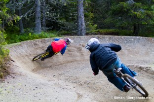 Andreas Vold, Rollercoaster, Hafjell Bike Park. Foto: Simen Berg