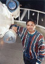 Arif Babul, one of Canada's top astrophysicist