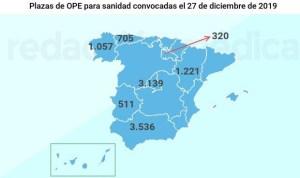 OPEs convocadas 2019