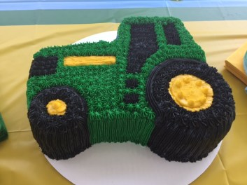 Johnny Tractor Cake - (Sim)fully Sweet