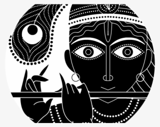 Krishna Clipart Vishnu God Black And White Radha Krishna Transparent Png 640x480 Free Download On Nicepng