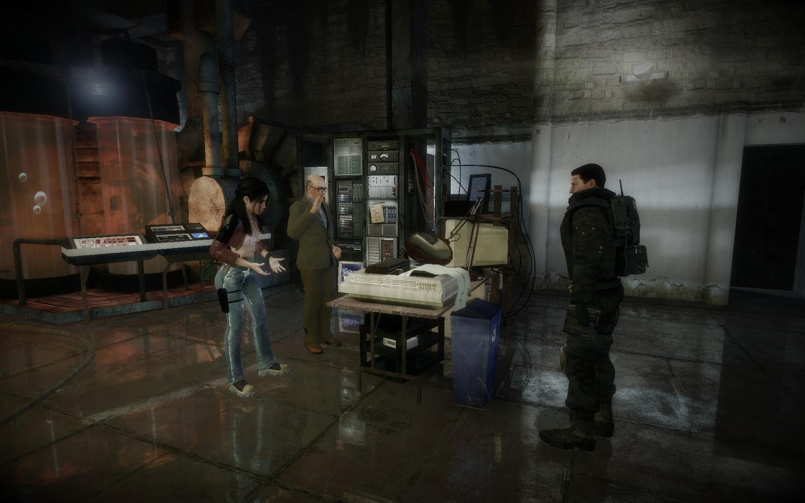 Half Life 2 Cinematic Mod Screenies