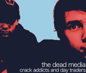 the dead media - fake album cover featuring me