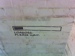 loading bar graffiti nerdy