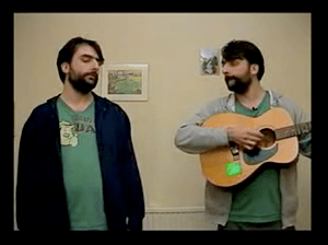 screenshot of the video