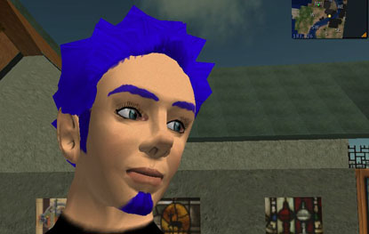 Self-Portrait from Second Life
