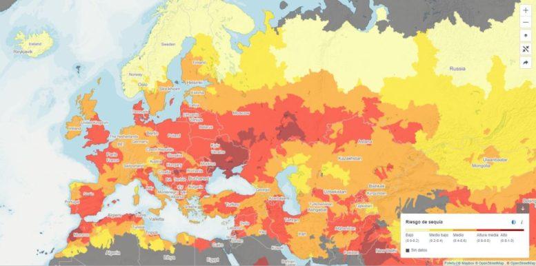 Europa se seca
