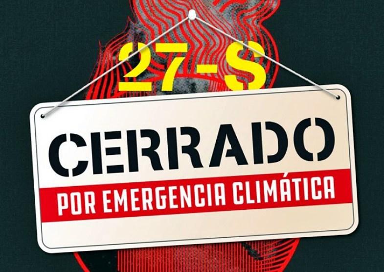 La ciudadanía se moviliza ante la emergencia climática y muestra su apoyo a la Huelga Mundial por el Clima del próximo 27 de septiembre