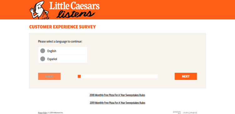 www littlecaesarslistens com - The Little Caesars Listens Customer