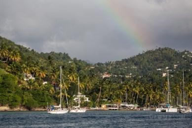 arivée à Marigot Bay