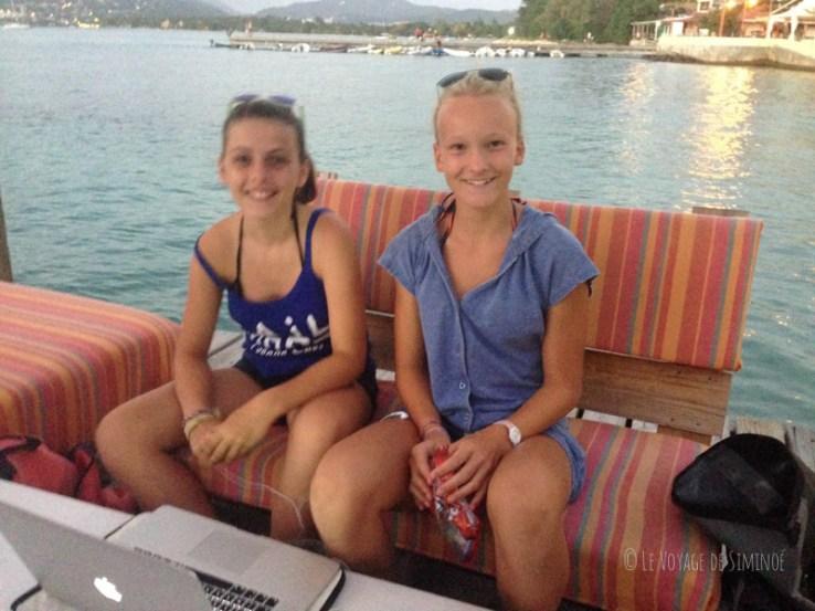 Pause wifi à la terrasse sur l'eau de la Dunette