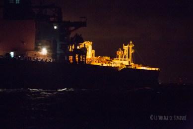 Un tanker de très près à Freeport